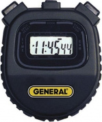 General SW100A Black Economic Digital Stopwatch