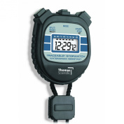 Thomas 1045 Traceable Water and Shock-Resistant Stopwatch with 1.3cm High LCD Display, 0.01 Percent Accuracy, 2-1cm Length x 2-0.3cm Width x 1.3cm Thick