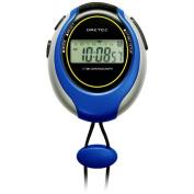 Sw-109bl Blue Dretec Stopwatch 1/100 of a Second Large-screen Display (Doritekku) Sports Timer