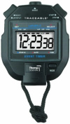 Thomas 1051 ABS Plastic Jumbo Digit Stopwatch with 1.3cm High LCD Display, 0.001 Percent Accuracy, 7.6cm Length x 2-1.3cm Width x 2.2cm Height