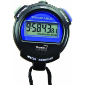Thomas 1030 ABS Plastic Traceable Digital Stopwatch with 1cm High LCD Digits, 0.0005 Percent Accuracy, 7.6cm Length x 2-1.3cm Width x 1.9cm Thick