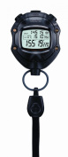 Casio HS-80TW-1EF Digital Black Stopwatch