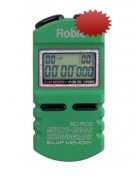 Robic SC-505 1/1000th Second Sports Chronometer...Green