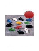 Assorted Colourful Plastic Whistles