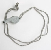 Atlantis Whistle with Neck Cord Grey A2709