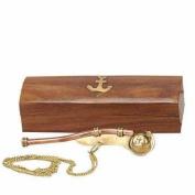 Bosun's Whistle w/ Wood Box