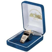 Acme Gold Plated Thunderer Gift Boxed Whistle