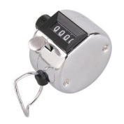 4-Digit Hand Tally Counter Number Clicker Golf