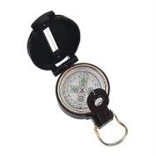 Fury Mustang Lensatic Compass, Black