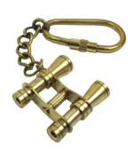 KEYCHAIN BINOCULORS HANDTOOLED HANDCRAFTED BY ITDC