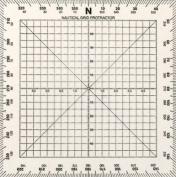 Weems & Plath Marine Navigation Square Protractor