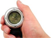 Pyle Sports PDCT3 Handheld Carabiner Compass with Backlight, Stop Watch and Clock