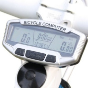Koolertron 2012 New LCD Bicycle Bike Computer Odometer Speedometer Fuctions Light