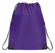 Drawstring Backpack Bookpack Bag, Purple by BAGS FOR LESSTM