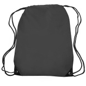 Small Sports Pack Backpack Book Tote Bag Durable . , Black by Bags for Less