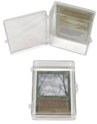 5 BCW Brand 55 Trading Card Capacity Hinged Box / Holder / Case - TCBRHB55 - Protect Your Valuable Sports and Gaming Cards!