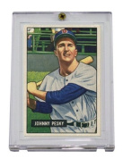 1 (One) Pro-Mould 1951-1952 Bowman Card 1-Screw Holder