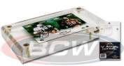 BCW - 1.3cm Acrylic Card Display or Holder with UV Protection - Ideal for Displaying Baseball & Other Sports Cards