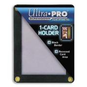 Ultra Pro UPSCR1CD Screwdown - Black & Clear Frame - Single Card Black Holder