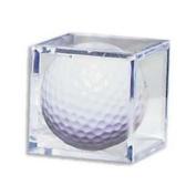 Golf Ball Acrylic Display Case Cube- Case of 6
