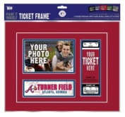"Atlanta Braves First Game Ticket Frame ""Frame It Yourself"""