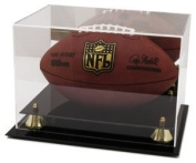 Football Deluxe Display Case Mirror Back Classic