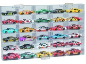 Clearwater Displays D06-3064 6-Shelf 30-Slot 1/64-Scale Display Case