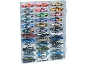 Clearwater Displays D12-3643 12-Shelf 36-Slot 1/43-Scale Display Case