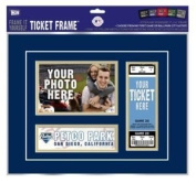 "San Diego Padres First Game Ticket Frame ""Frame It Yourself"""