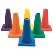 "Soft ""E"" 30.5cm Foam Cones"