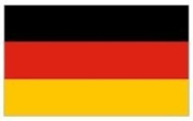 Flag - Material 1.5m x 0.9m - Germany [Kitchen & Home]