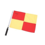Champion Sports Chequered Soccer Referee Flags