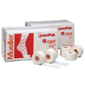 3.8cm x 15 yd. M-Tape Athletic Tape from Mueller - Case of 32 Rolls