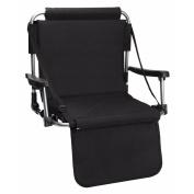 Black Stadium Chair