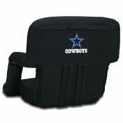 NFL Dallas Cowboys Portable Ventura Reclining Seat, Black