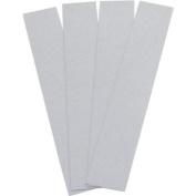 Aardvark Reflective Tape White, 4 2.5cm X15.2cm Strips