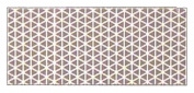 Aardvark Reflective Stickers, White, 15.2cm x 2.5cm