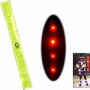 Reflective LED Lighted Safety Band, Arm Strap Bands