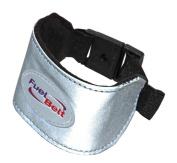 FuelBelt Reflective Wrist Band Silver Buckle Closure