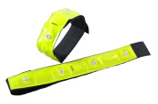 Eurow Safety 3M Scotchlite Reflective Bands With 4 LED