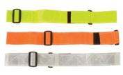 Safety Flag SBWRX2LY Fluorescent/Reflective Waist Belt, Lime/Yellow