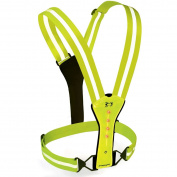 Amphipod Xinglet Flash LED Runner's Vest High Visibility Green