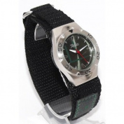 Reflex Quartz Green hook and loop Strap Gents Watch VEL01G