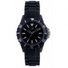 Reflex Black Silcone Strap Unisex Sports Watch SR001