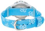 Timex Women's T5G891 1440 Sports Digital Blue Floral Fabric Strap Watch