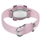 Armitron Women's 456963PNK Sport Chronograph Pink Resin Strap Digital Display Watch