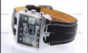 OHSEN LCD Date Day Alarm Men Digital Sport Quartz Watch