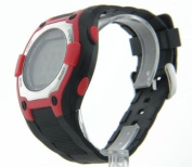 Mens Cage Fighter Rubberized Band Digital Watch CF332005BSRD