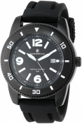Smith & Wesson Men's SWW-5983 Paratrooper Black Rubber Strap Watch