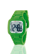 Sector Unisex Watch R8258992918.1cm Collection Street with Digital Display and Green Strap